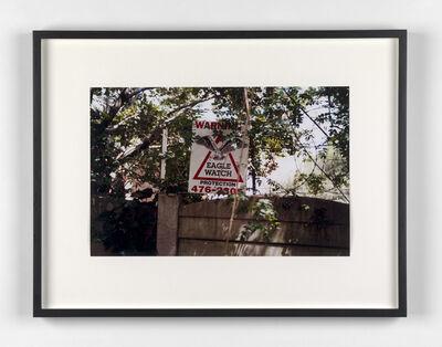 Kendell Geers, 'Suburbia 2', 1999