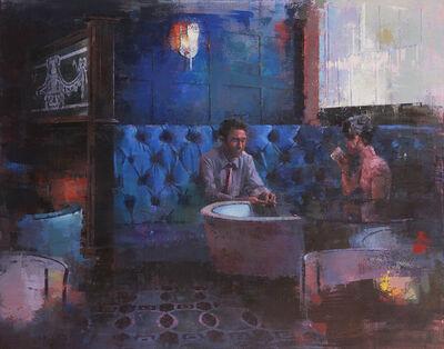 Keiko Ogawa, 'Blue Bar', 2018