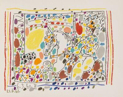 Pablo Picasso, 'Jamie Sebartes: A los Toros Mit Picasso (Bloch 1014-47; Cramer 113)', 1961