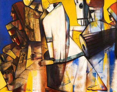 Paresh Maity, 'Melodious Journey', 2019