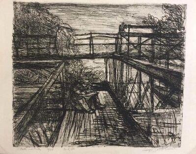 Luigi Bartolini, 'Il Poeta del Ponte', 1948