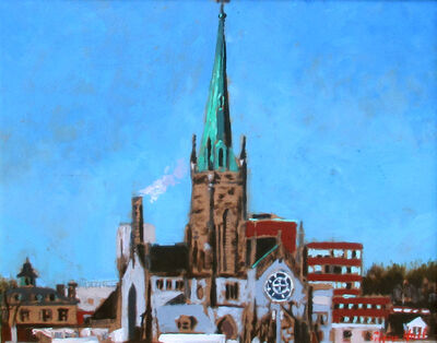 Glenn Hall, 'Cathedral Waterloo Street, Saint John', 2018