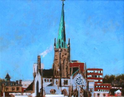 Glenn Hall, 'Cathedral Waterloo Street, Saint John', 2018