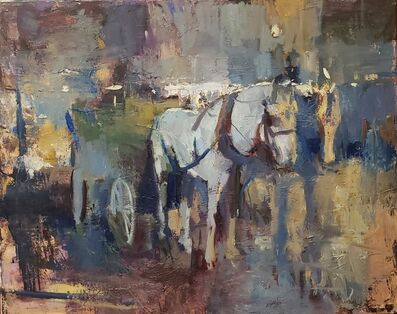 Patrick Lee (b. 1972), 'Carriage Horses', 2021