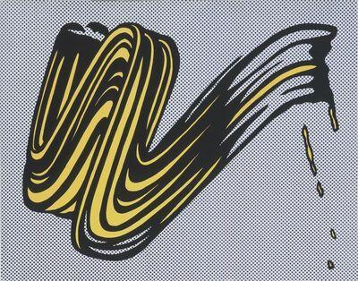 Roy Lichtenstein, 'Brushstroke Corlett II 5', 1965