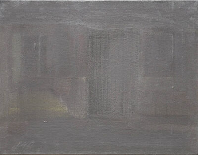Merlin James, 'Untitled (Graphite)', 1998
