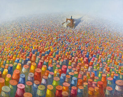 Heriberto Mora, 'The Labyrinth of the Flowers'
