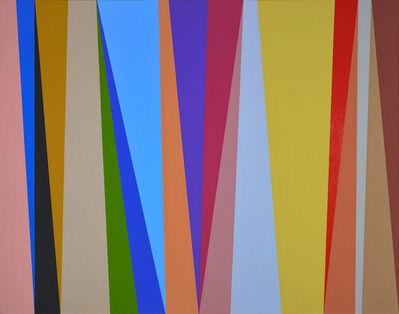 Karl Benjamin, '#8', 1995