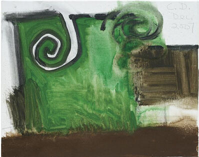 Carroll Dunham, 'Untitled (12/07)', 2007