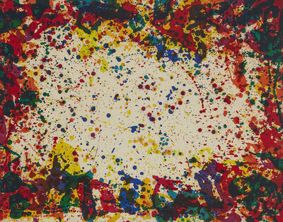 Sam Francis, 'Five Coral Screen', 1972