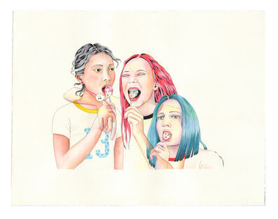 Delphine Lebourgeois, 'Lolly-K-pop', 2021