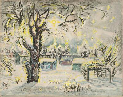 Charles Ephraim Burchfield, 'Winter Diamonds'