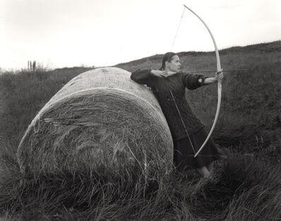 Agnieszka Sosnowska, 'Longbow Practice', 2018