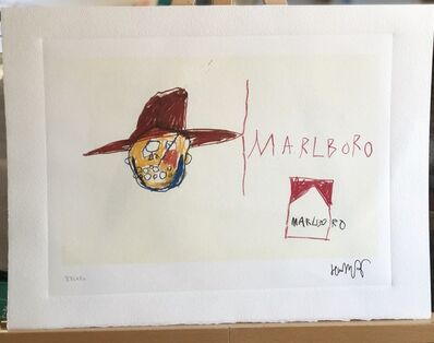 Jean-Michel Basquiat, 'Marlboro Man', Unknown