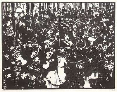 Jean-Emile Laboureur, 'Le Bal Bullier', 1898
