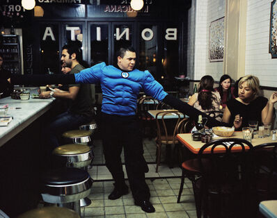 Dulce Pinzon, 'SERGIO GARCIA from the State of Mexico works as a waiter in New York. He sends 350 dollars a week.'