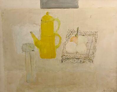 Pierre Lesieur, 'La cafetière jaune', 1980