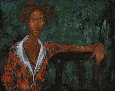 Geoffrey Holder, 'Portrait of a Woman; Essence of Dignity', ca. 1980
