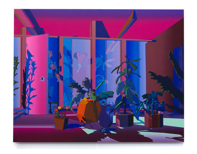 Jonathan Chapline, 'Scenes of a Home I (Plants Interior)', 2019