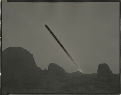 Chris McCaw, 'Sunburned GSP #1017 (Mojave)', 2019