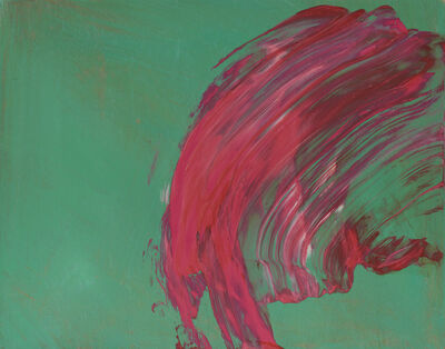 Howard Hodgkin, 'Over To You', 2015-2017