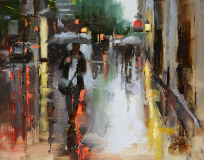 Jacob Dhein, 'Walking on Market St', 2015