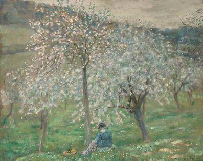 Frederick Carl Frieseke, 'Spring Blossoms', circa 1921