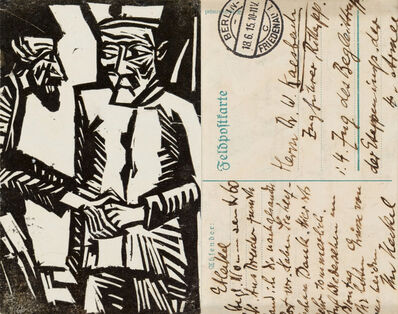 Erich Heckel, 'Abschied', 1914