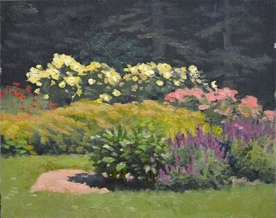 Armand Cabrera, 'Flower beds afternoon', 2016