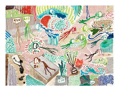 David Hockney, 'Spilt Ink', 2019