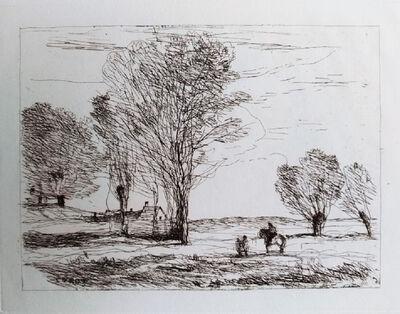 Jean-Baptiste-Camille Corot, 'Landscape #3', 1850