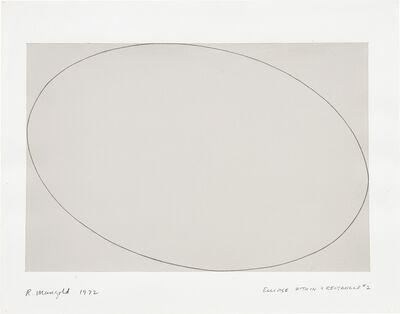 Robert Mangold (b.1937), 'Ellipse Within a Rectangle #2', 1972