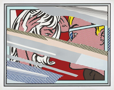 Roy Lichtenstein, 'Reflections on Conversation, from Reflections Series', 1990
