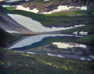 Brian Cobble, 'Unnamed Lake, Trico Peak', 2010