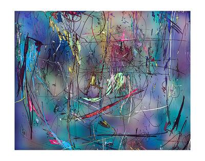 Florian Maier-Aichen, 'Untitled (Lasso Painting #6)', 2019