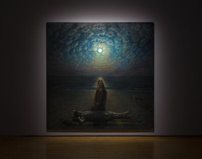 TM Davy, 'Fire Island Moonrise', 2018