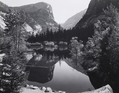 Ansel Adams, 'Mirror Lake, Yosemite, 1935', 1935