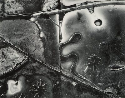 Brett Weston, 'Untitled (Abstract Ice Forms)', 1956