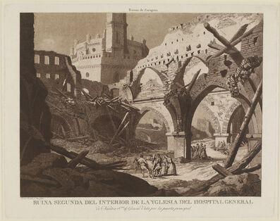 Fernando Brambilla, 'Ruins of Saragossa: Hospital General de Nuestra Señora de Gracia', 1808-1814