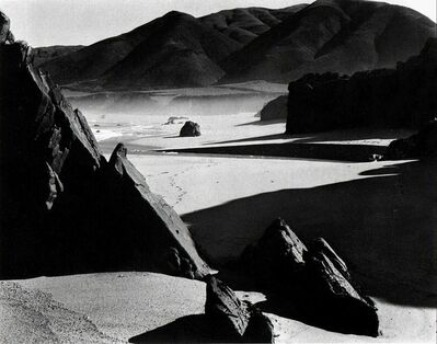 Brett Weston, 'Garrapata Beach California', 1954
