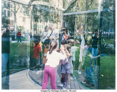 Dan Graham, 'Fun for Kids at my Work in a Park in Manhattan', 2003