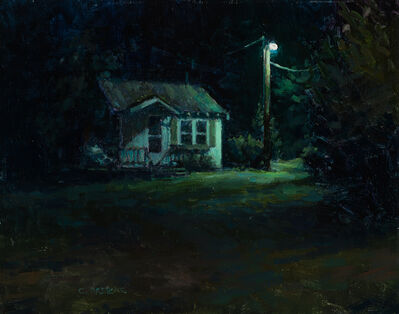 Carl Bretzke, 'Cool Light on the White Cabin', 2017