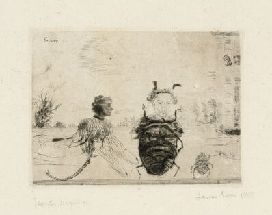 James Ensor, 'Insectes singuliers (Strange Insects)', 1888