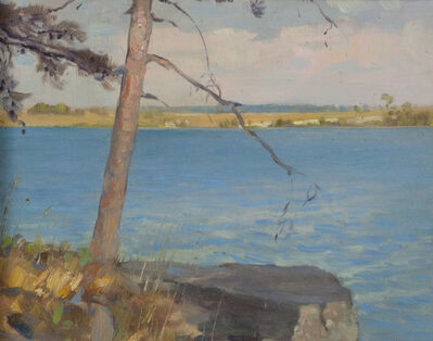 Victor Coleman Anderson, 'Lone Tree, St. Lawrence'