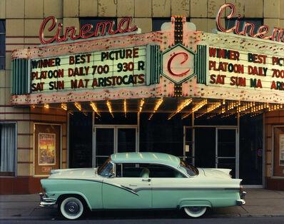 Bruce Wrighton, '1956 Ford Fairalne Victoria, Endicott Cinema, Endicott, NY', 1987