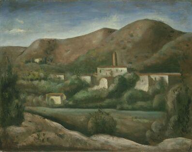 Carlo Carrà, 'S. Gaudenzio di Varallo', 1924