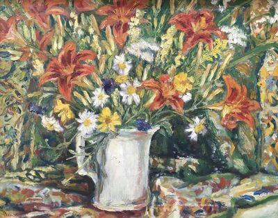 Doris Dickason, 'Daylily Still Life', Late 20th c.
