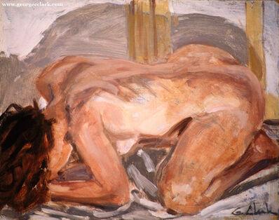 George C Clark, 'Crouching Nude', 2017
