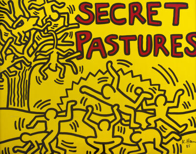 Keith Haring, 'Secret Pastures', 1984