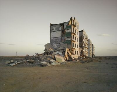 Nadav Kander, 'The Aral Sea I (Officer's Housing), Kazakhstan', 2011